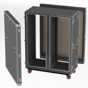 Rack & Shockmounts Shipping Cases