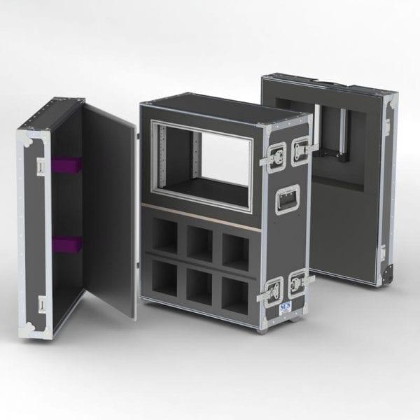 Custom shockmount shipping case