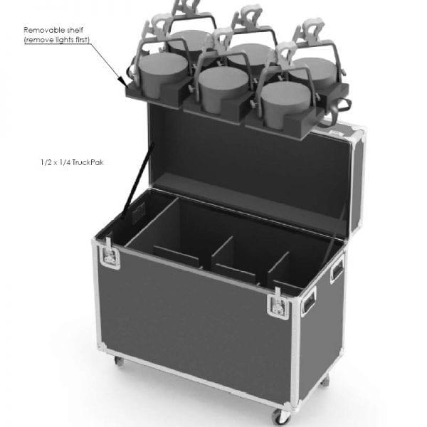 Custom TruckPak Shipping Case 56-776A