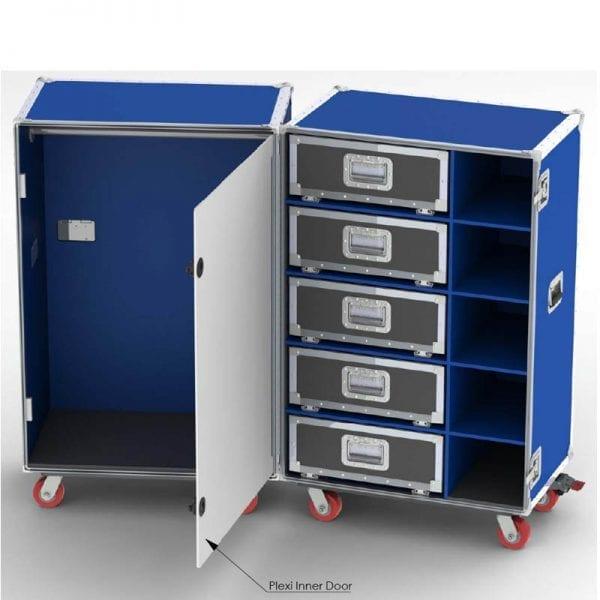 athletic equipment case 68-1123