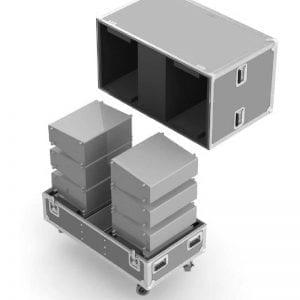 Pro Audio Speaker Road Cases