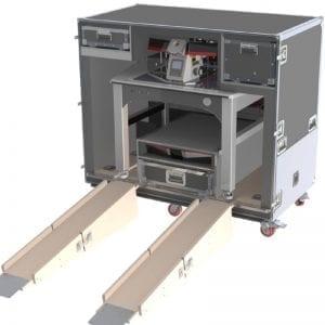 39-3406 Shipping Case with Ramp for AV Table