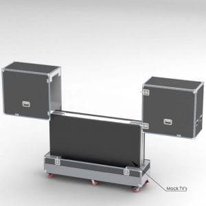 "52-1395_1Samsung Smart 85"" Monitors Shipping Case"