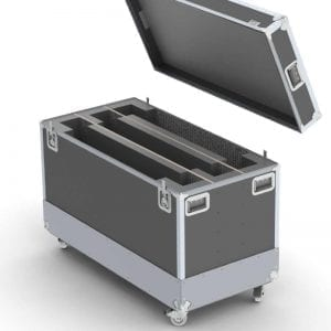 52-1409 Shipping case for (3) Christie FHD553-XE-HR LCD Panels