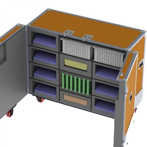 Custom Computer Shipping Case ATA 39-2784