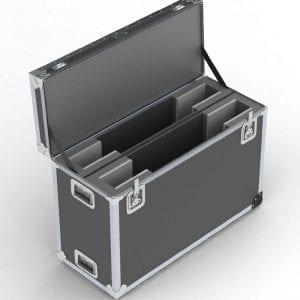 52-1393 Samsung UN40J6200AFXZA dual TV shipipng case