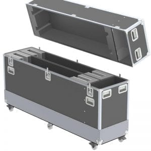 Dual Samsung 70 in 6300 UHD TV Shipping Case