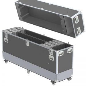 Dual Samsung 70 in 6300 UHD TV Shipping Case