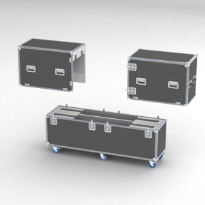 """Shipping Case for 70"""" LCD HDTV"""
