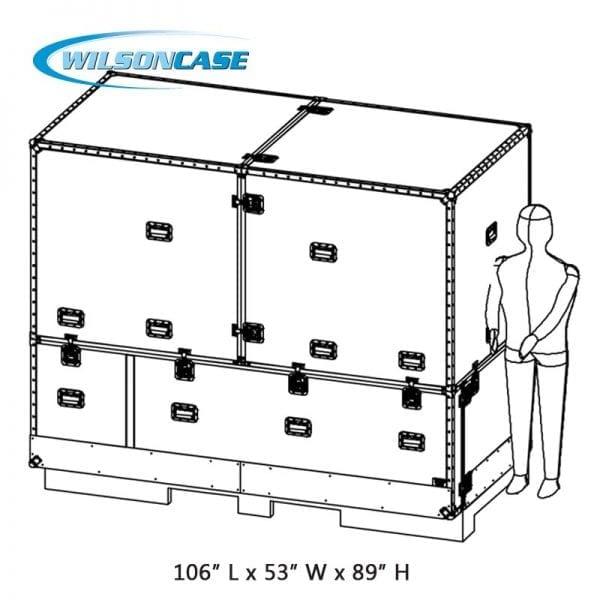 Wilson Case Medical Device Shipping Case 70-776A
