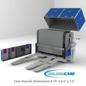 medical instrument case 70-776A