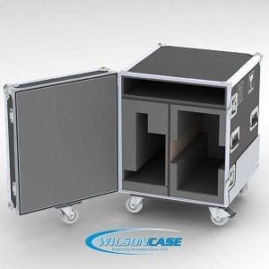 44-2986 Custom Shipping Case for monitor and workstation