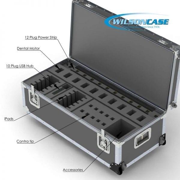 44-2993 Custom Medical case for Dental Equipment
