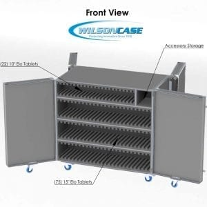 44-3075 custom shippin case for ELO tablets