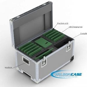 44-2991 Shipping case for MacBook and iPads