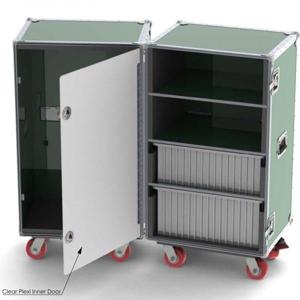 68-1205 Custom Wardrobe Drawer Athletic Case