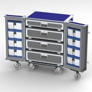 68-1227 Custom athletic equipment case