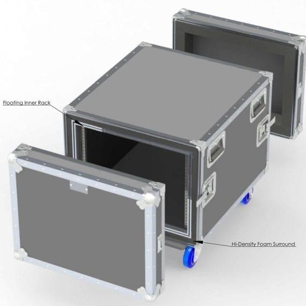 80-605 Custom Shockmount case