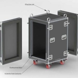 80-610 Custom Shockmount Case