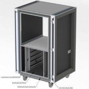 Shockmount Rack / Shock Isolation Cases
