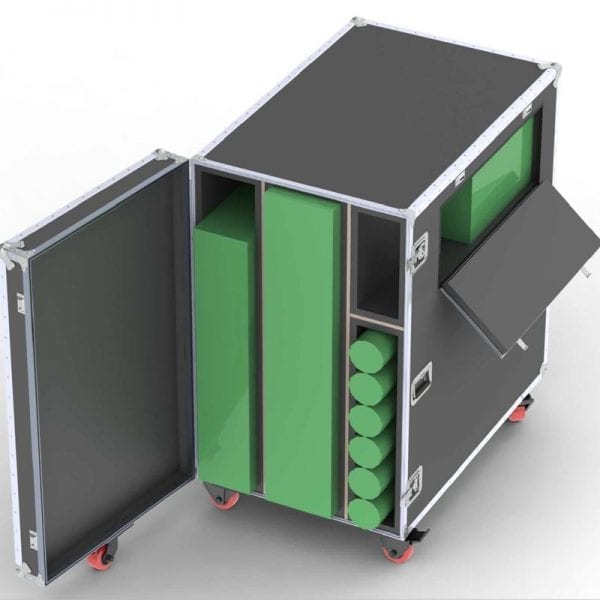 84-5631 Tradeshow Booth Shipping Case