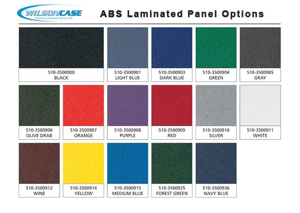 Wilson Case ABS Color Options