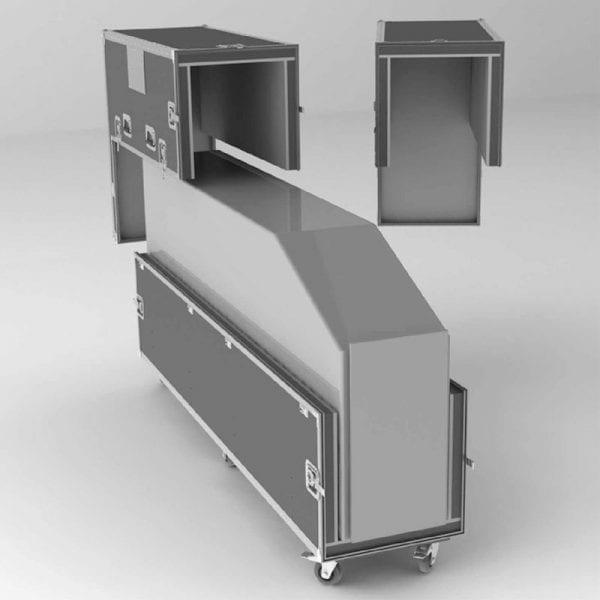 #50-688 Kiosk Shipping Case