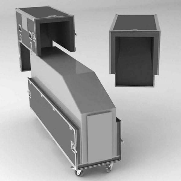 #50-689 Kiosk Shipping Case