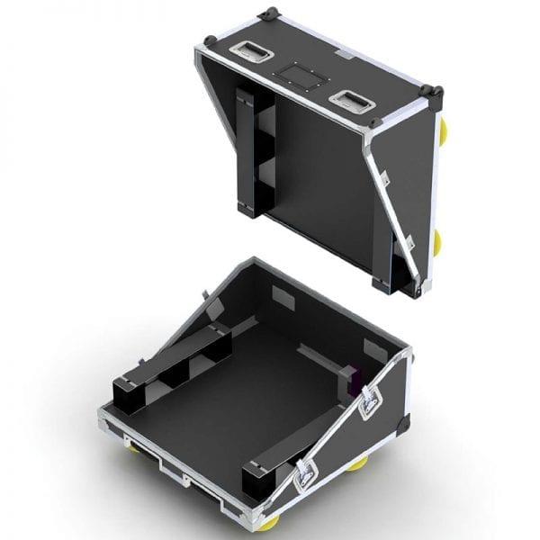 #88-2275 Custom shipping case with slant lid