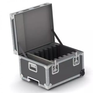 iPad Shipping and Transport Case.